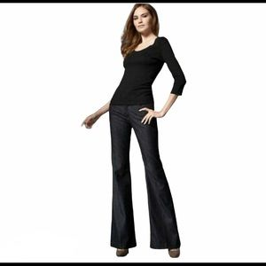 7 FOR ALL MANKIND GINGER jeans Style P330380SIL